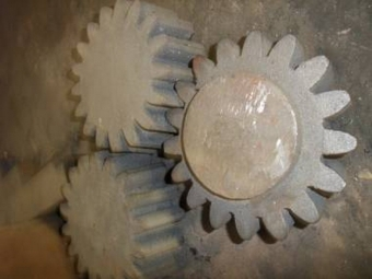 Cast iron blanks for bevel gears