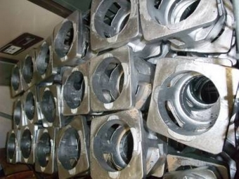Aluminium castings machine parts